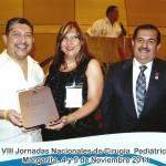Doctores Santiago Rodríguez (Colombia), Miriam Pulido (Presidenta) y Wenceslao Plazas Vicepresidente).