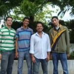 Alexander Valverde, Carlos Oronoz y Anthony Cedeño son los tres estudiantes del 8º Semestre de Ing. de Sistema de la UDO-Monagas.