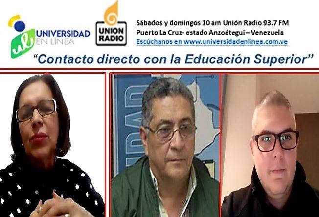 """Universidad en Línea: la educación virtual en la UDO y el reto de destacar en """"tierra ajena""""."""