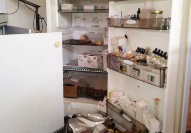 Delincuentes destruyen laboratorio de Bioanálisis en la Universidad de Los Andes