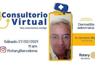 Consultorio Virtual Rotary Barcelona con el dermatólogo Hernando Villamil Cely