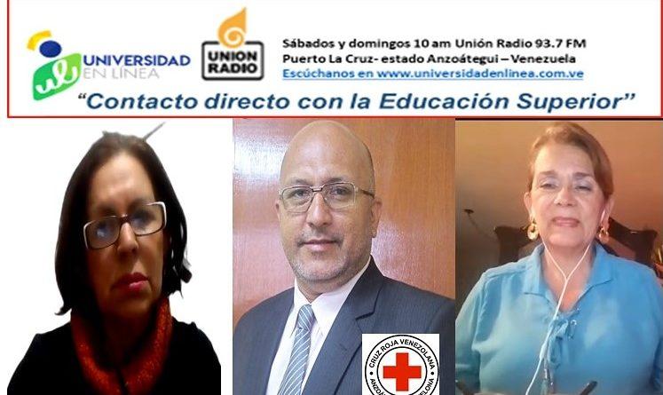 Universidad en Línea Radio: La Cruz Roja Venezolana-Anzoátegui  y los «Fake News» en pandemia
