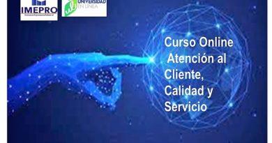 Curso Atención al Cliente, Calidad y Servicio en IMEPRO